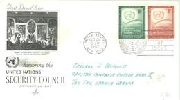 FDC 1957 - New York - Sede De La Organización De Las NU