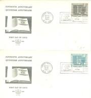 FDC 1960 - New York - Sede De La Organización De Las NU