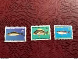 DJIBOUTI 1986 3v Neuf ** MNH YT 622 623 624 Marine Life Fish Poisson Pesce - Peces