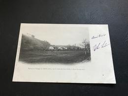 Ruines Et Village De THOL (Ain), Sur La Route De Pont D'Ain à Neuville Sur Ain - 1902 Timbrée - Autres Communes