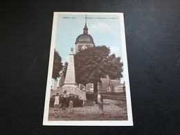 VIRIAT (Ain) L'Eglise Et Monument Aux Morts - France