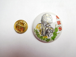 Superbe Pin's En Porcelaine , ARS ?? - Pin's & Anstecknadeln