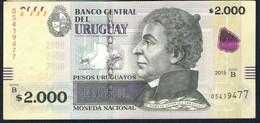 Uruguay - 2000 Pesos Uruguayos 2015 - P99 - Uruguay