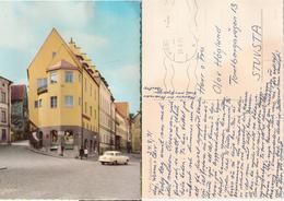 Sweden 1971 Gotland - Visby Town Hotel Stadshotellet  - With Borgward Car - Used No Stamp - Suède
