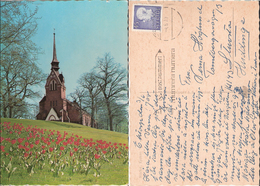 Sweden 1970 Nacka Kyrka /  Church    Used Cancelled Stockholm 4-6-70 Inumera Numera Postnummer - Svezia