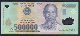 Vietnam - 500000 Dong 2015 - P124k - Vietnam