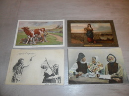 Beau Lot De 20 Cartes Postales De Fantaisie    Mooi Lot 20 Postkaarten Van Fantasie   -  20 Scans - Cartoline