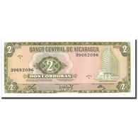 Billet, Nicaragua, 2 Cordobas, 1972, 1972-04-27, KM:121a, NEUF - Nicaragua