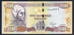 Jamaica - 500 Dollars 2016 - P85j - Jamaica