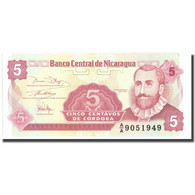 Billet, Nicaragua, 5 Centavos, KM:168a, NEUF - Nicaragua