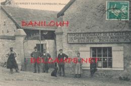 51 // CLAIRIZET SAINTE EUPHRAISE    Cafe Restaurant De La Gare, Epicerie Marly Mether, Edit Jager - Altri Comuni