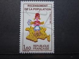 VEND BEAU TIMBRE DE FRANCE N° 2202a , XX !!! (b) - Errors & Oddities
