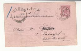 Austria / Vienna Express Rohrpost / Stationery / Pneumatic Mail - Austria