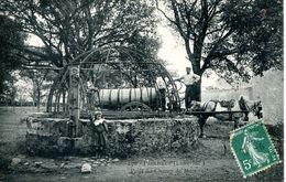 N°73266 -cpa Paimboeuf -puits Du Champ De Mars -attelage- - Paimboeuf