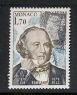 Monaco 1979 Sir Rowland Hill Death Centenary MUH - Monaco