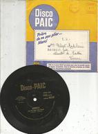 Disque DISCO PAIC ,  1965 ,  2 Disques : America (West Side Story) , La Grande Evasion + ENVELOPPE, Frais Fr 2.55 E - Spezialformate