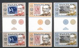 Swaziland 1979 Sir Rowland Hill Death Centenary Gutter Pr MUH - Swaziland (1968-...)