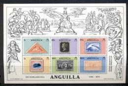 Anguilla 1979 Sir Rowland Hill Death Centenary MS MUH - Anguilla (1968-...)
