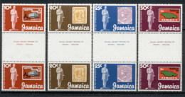 Jamaica 1979 Sir Rowland Hill Death Centenary Gutter Pr MUH - Jamaica (1962-...)