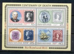Bahamas 1979 Sir Rowland Hill Death Centenary MS MUH - Bahamas (1973-...)