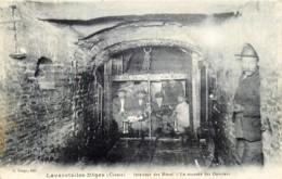 France - 23 - Lavaveix-les-Mines - Près De Laschamps , Pourtoux , Bourlat - Intérieur Des Mines - La Montée Des Ouvriers - Francia