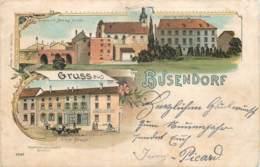 France - 57 - Litho. - Gruss Aus Busendorf - Autres Communes