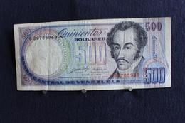 26 / Banco Central De La Venezuela - 500  Bolivares - ( Mai ) Mayo. 31 . 1990  / N° B 39785969 - Venezuela