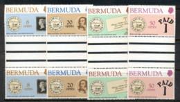 Bermuda 1979 Sir Rowland Hill Death Centenary Gutter Pr MUH - Bermuda
