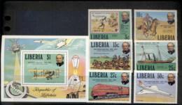 Liberia 1979 Sir Rowland Hill Death Centenary + MS MUH - Liberia