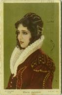 CHOCOLATE TALMONE - MARIA JACOBINI - ACTRESS - PITTALUGA FILM - ADVERTISING POSTCARD 1920s - EDIT G.B. FALCI  (BG370) - Werbepostkarten