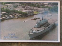 HMS ARK ROYAL - AERIAL - Warships