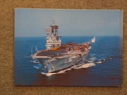 HMS ARK ROYAL AT SEA - DIXON CARD - Warships