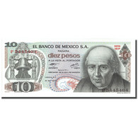 Billet, Mexique, 10 Pesos, 1977, 1977-02-18, KM:63i, SPL+ - México