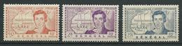 SENEGAL 1939 . N°s 150 , 151 Et 152 . Neufs * (MH) - Neufs