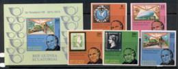 Equatorial Guinea 1979 Sir Rowland Hill Death Centenary + MS IMPERF MUH - Equatorial Guinea