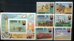 Liberia 1979 Sir Rowland Hill Death Centenary + MS IMPERF MUH - Liberia