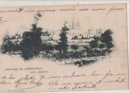 CPA  Espagne. Santiago De Compostela. Vista General 1902 - Santiago De Compostela