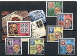 Comoro Is 1979 Sir Rowland Hill Death Centenary + MS 500f IMPERF MUH - Comoros