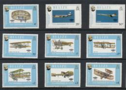 Belize 1979 Sir Rowland Hill Death Centenary, Powered Flight MUH - Belize (1973-...)