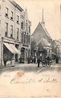Breda -  Waalsche Kerk (Vivat, Animatie, Uitg. J J Van Turnhout 1902, Tax Postzegel) - Breda