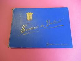 Souvenir De BELFORT/ Schmitt/ Belfort /Vers 1895-1900     PGC276 - Dépliants Touristiques