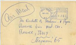 NEW YORK  NY EMA  Blue - Storia Postale