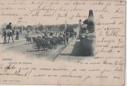 CPA  Espagne. Madrid. Puente De Toledo. Taureaux. 1902 - Madrid