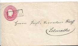 Pre308 / PREUSSEN  - Ganzsache Soest Nach Letmathe Ca. 1856 - Pruisen