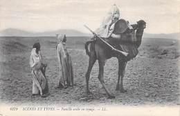 Afrique-Algérie-Scènes Et Types  FAMILLE ARABE EN VOYAGE  (-  Editions LL N° 6179 )  *PRIX FIXE - Women
