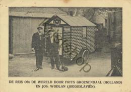 Reis Om De Wereld - Frits Groenendaal En Jos. Wodlan [2A-2.817) - Autres Célébrités