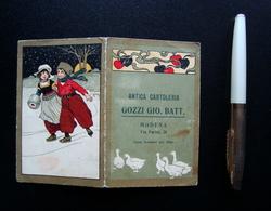 Calendarietto Barbiere 1913 Antica Cartoleria Gozzi Gio Batt Modena Via Farini - Calendari