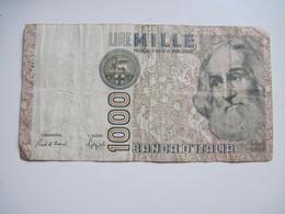 BILLET  Italie 1000 Lire 1982 - Marco Polo Dans L'état - Israel