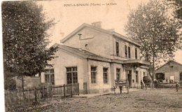 Dept 51,Marne,Port à Binson,La Gare (Tampon 22eme Régiment D'Infanterie Coloniale) - France
