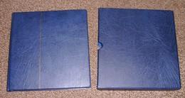 Berlin Leuchtturm SF Vordruckblätter 1948 - 1990 Komplett Im Blauen Leuchtturm Ringbinder + Kassette NP über 300,- Euro - Alben & Binder